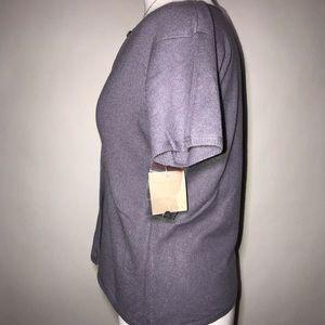 J. Jill Sweaters - J. Jill Cashmere Short Sleeve Button Down Sweater